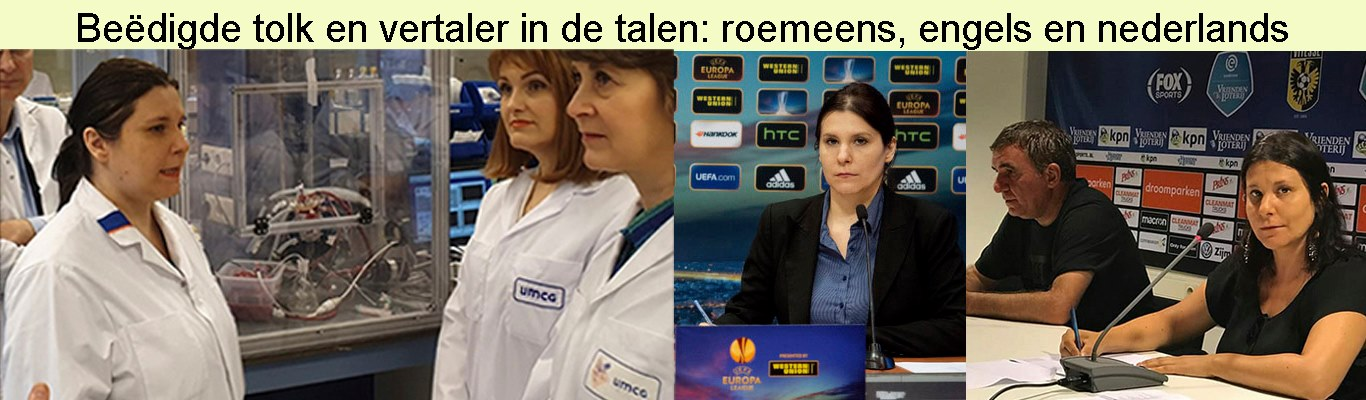 Real time tolk roemeens